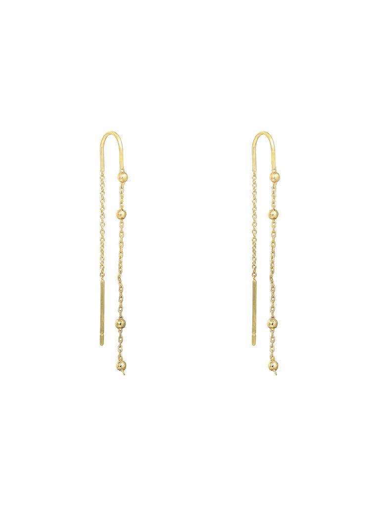 YEHWANG Earrings Rodeo Gold