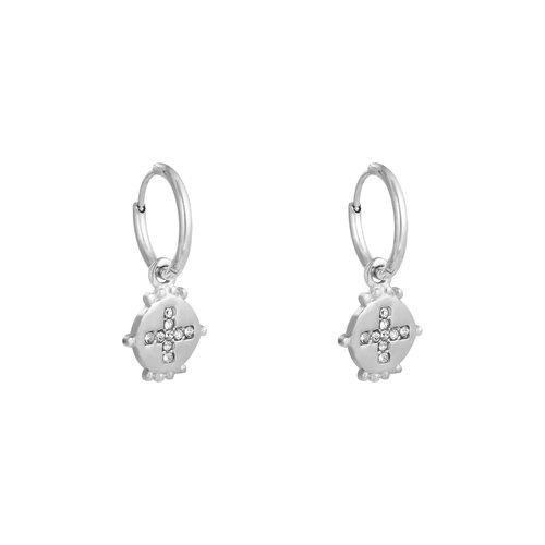 YEHWANG Earrings Festive Silver