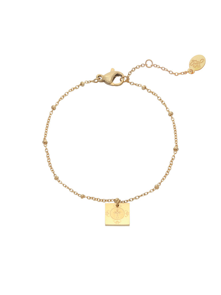 YEHWANG Bracelet Religious Gold
