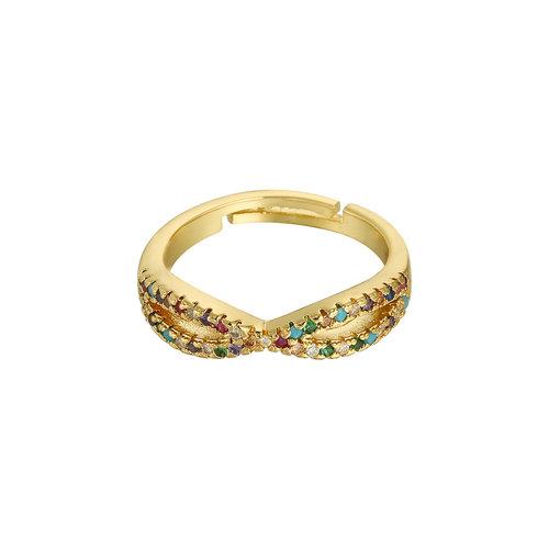 YEHWANG Ring Sparkle Away Gold
