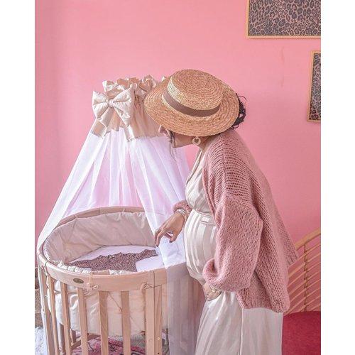 ALEXANDRE LAURENT Knitted Cardigan Old Rose