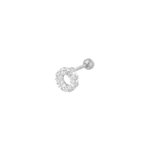 LADYLIKE THE LABEL Piercing Circle Zilver