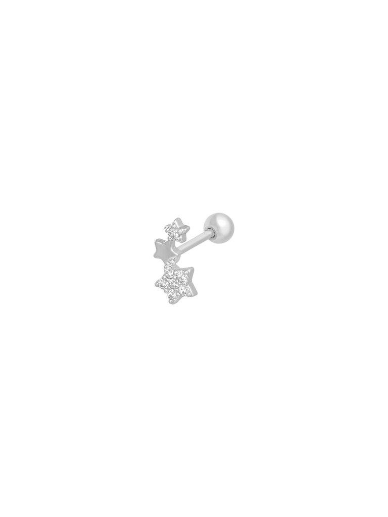 LADYLIKE THE LABEL Earrings Shining Star Silver
