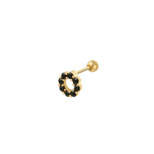 LADYLIKE THE LABEL Piercing Circle Goud