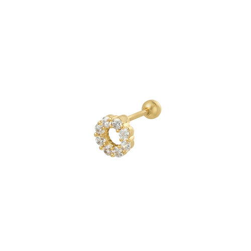 Ladylike the Label Piercing Circle Gold