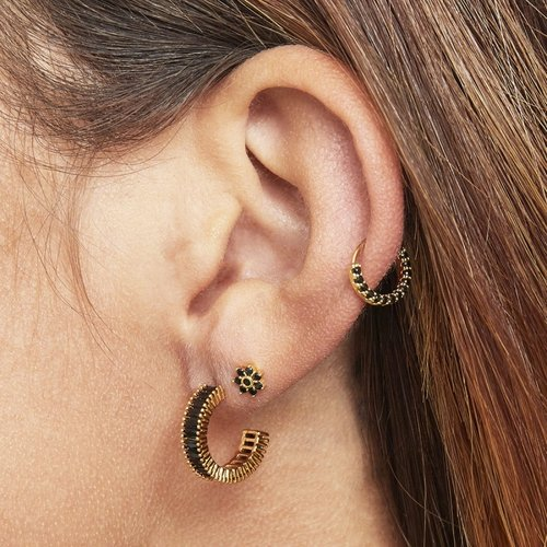 LADYLIKE THE LABEL Earrings Inner Circle Large Gold