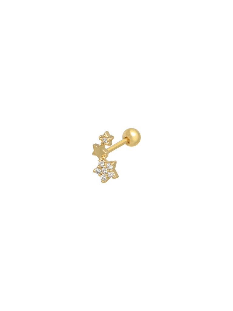 LADYLIKE THE LABEL Earrings Shining Star Gold
