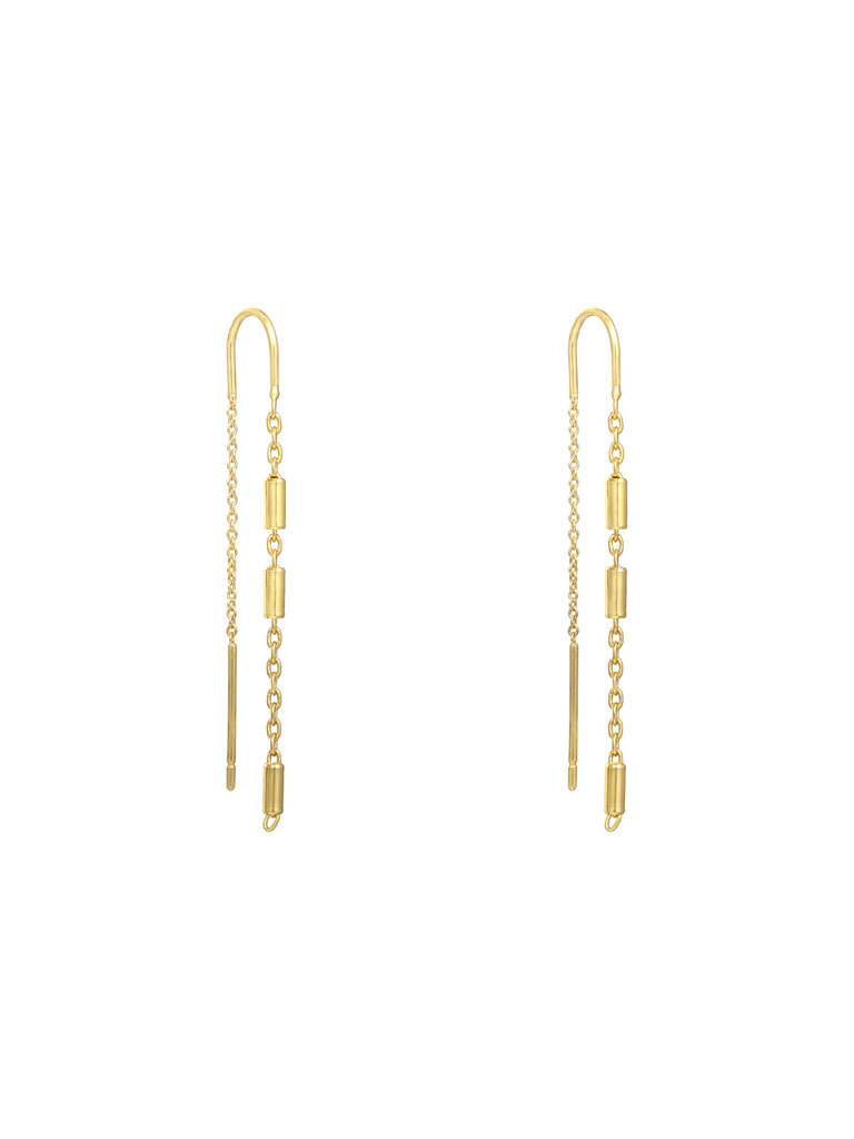 LADYLIKE THE LABEL Earrings Candy Bar Gold