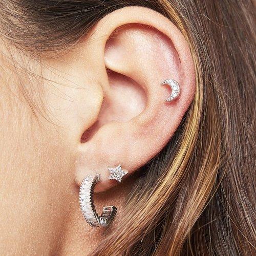 LADYLIKE THE LABEL Earrings Classy Silver