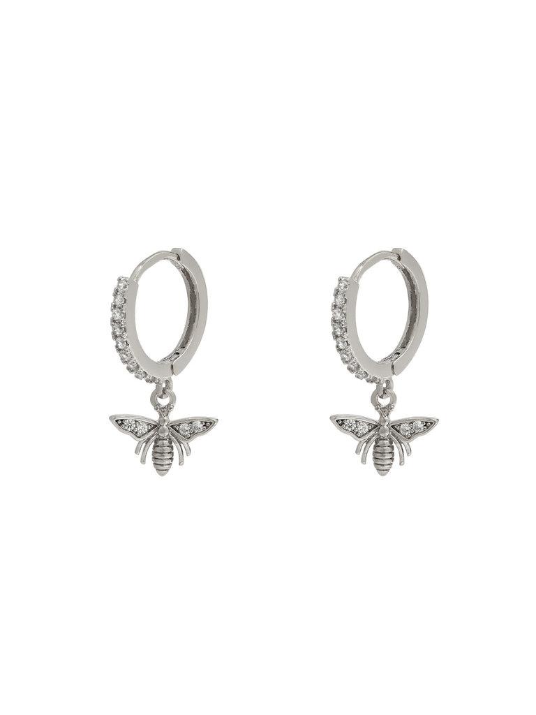 LADYLIKE THE LABEL Earrings Wealthy Wasp Silver
