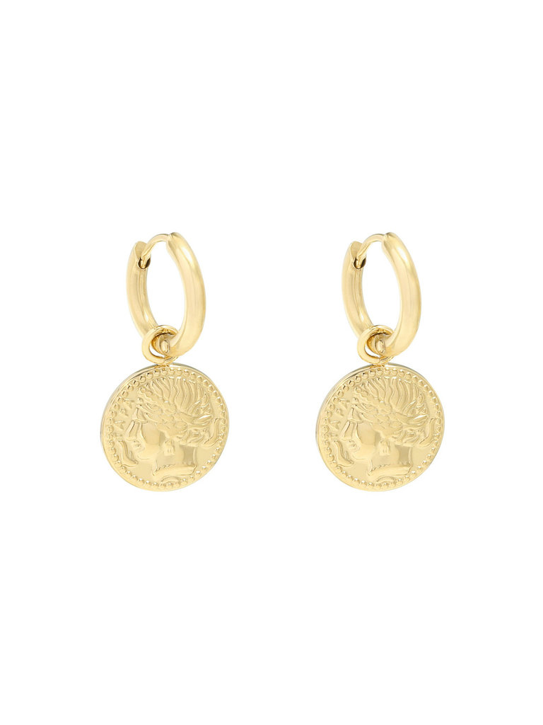 LADYLIKE THE LABEL Earrings Ancient Beauty Gold