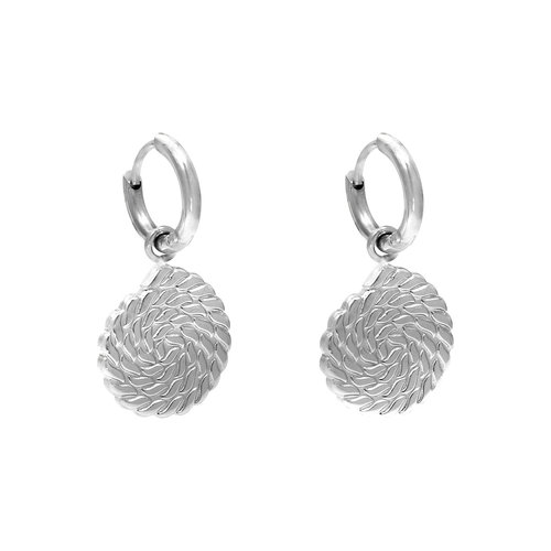 Ladylike the Label Earrings The Favorite Silver