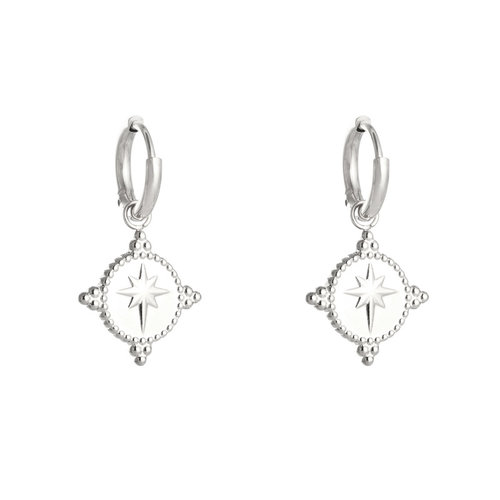 LADYLIKE THE LABEL Earrings Guiding Star Silver