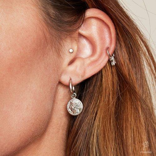 LADYLIKE THE LABEL Earrings Ancient Beauty Silver