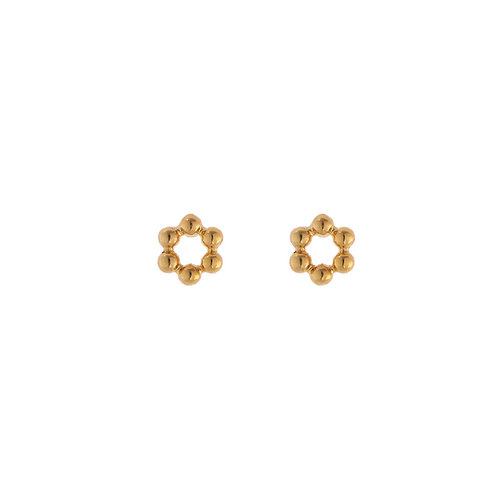 LADYLIKE THE LABEL Earrings Mini Circles Gold