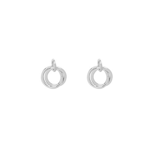 LADYLIKE THE LABEL Earrings Mini Open Circles Silver