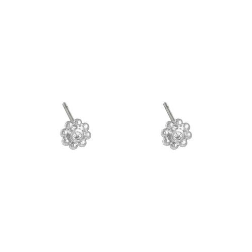 LADYLIKE THE LABEL Earrings Flowery Silver