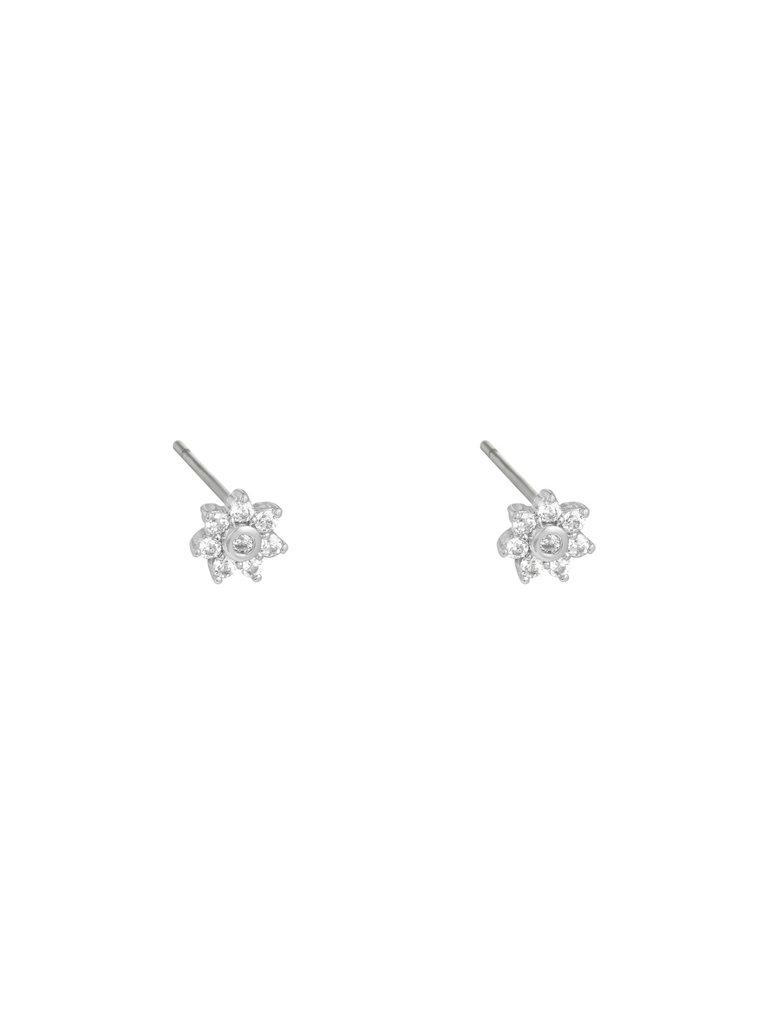 LADYLIKE THE LABEL Earrings Mini Flower Silver