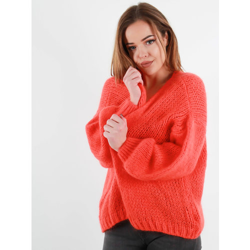ALEXANDRE LAURENT Knitted Cardigan Red