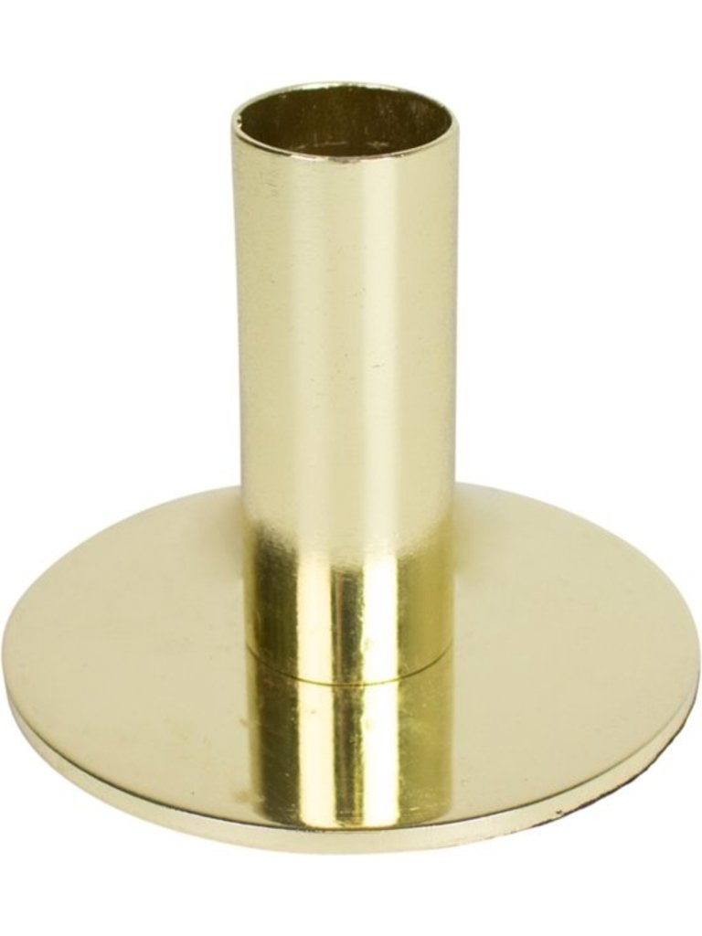 HOUSE VITAMIN Round Candle Holder Gold