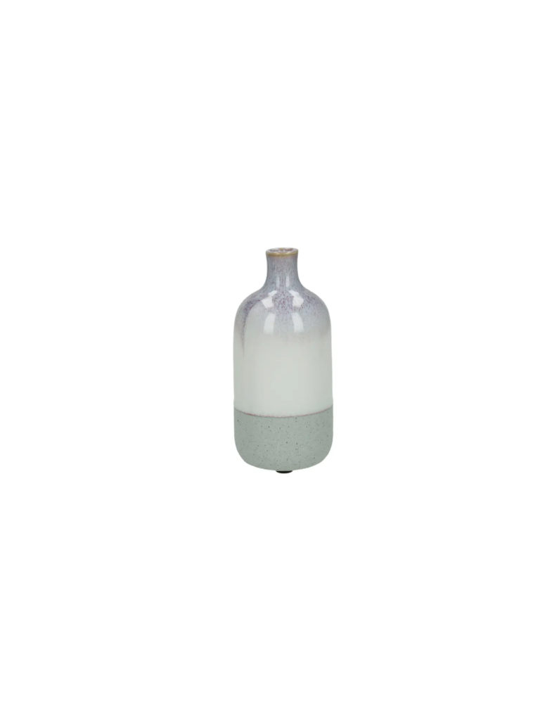 POMAX Vase Creme/Purple