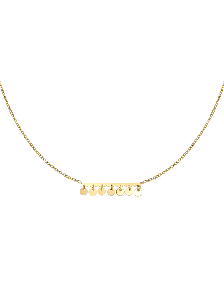 YEHWANG Necklace Confetti Gold