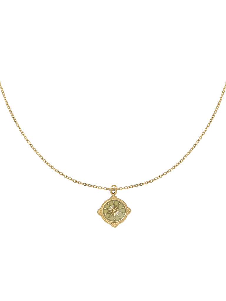 YEHWANG Necklace Leading Star Gold