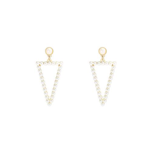 YEHWANG Earrings Irresistible Pearl Gold