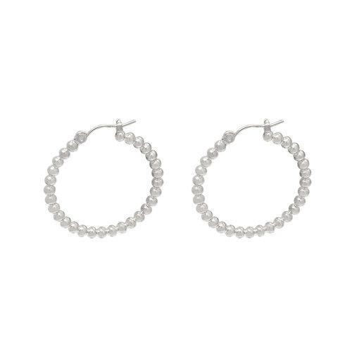 YEHWANG Earrings Dots Silver