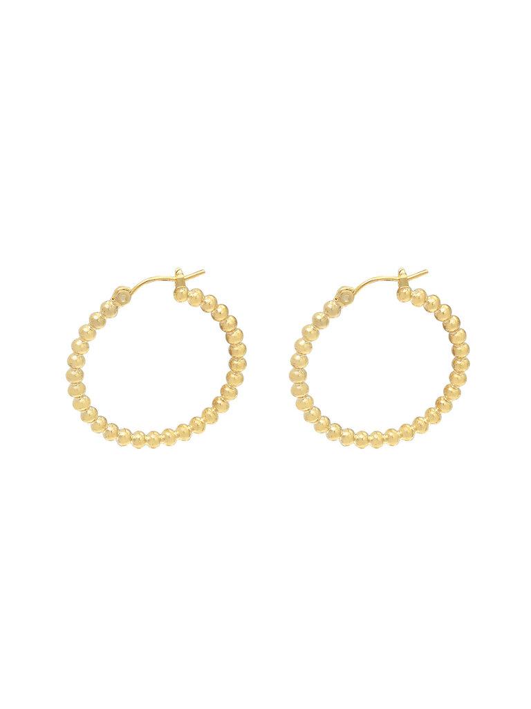 YEHWANG Earrings Dots Gold