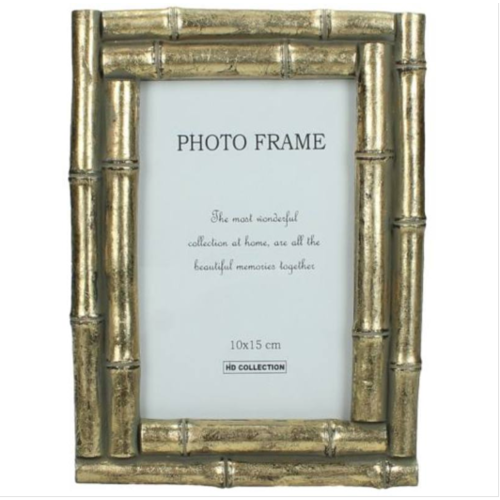 KERSTEN Photo Frame Bamboo Gold