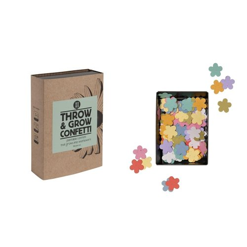 INDIE BRANDS Throw & Grow Confetti Flowers