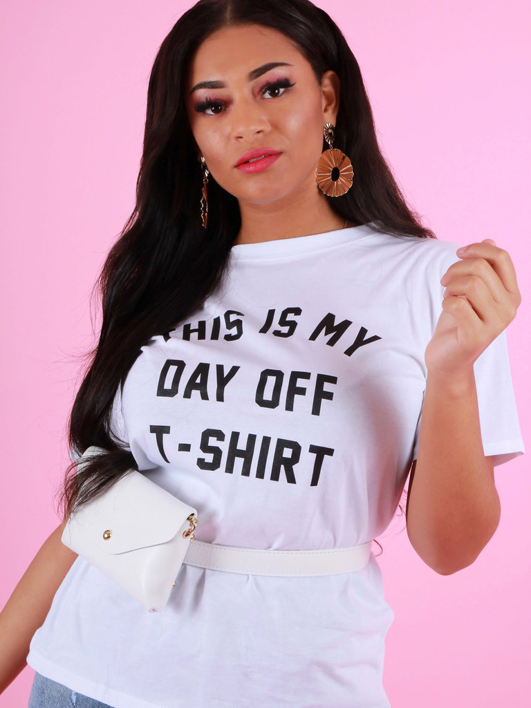 BODY Day Off T-Shirt Wit