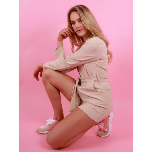 EIGHT PARIS Playsuit Beige
