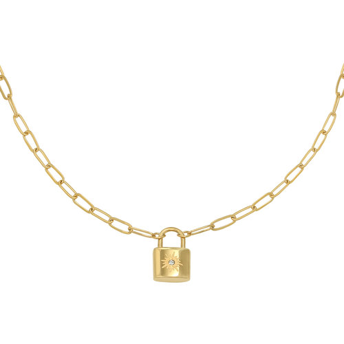 YEHWANG Necklace Little Lock Gold