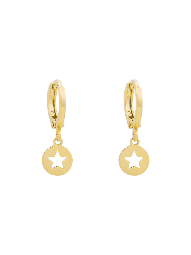 YEHWANG Earrings Catch a Star Gold