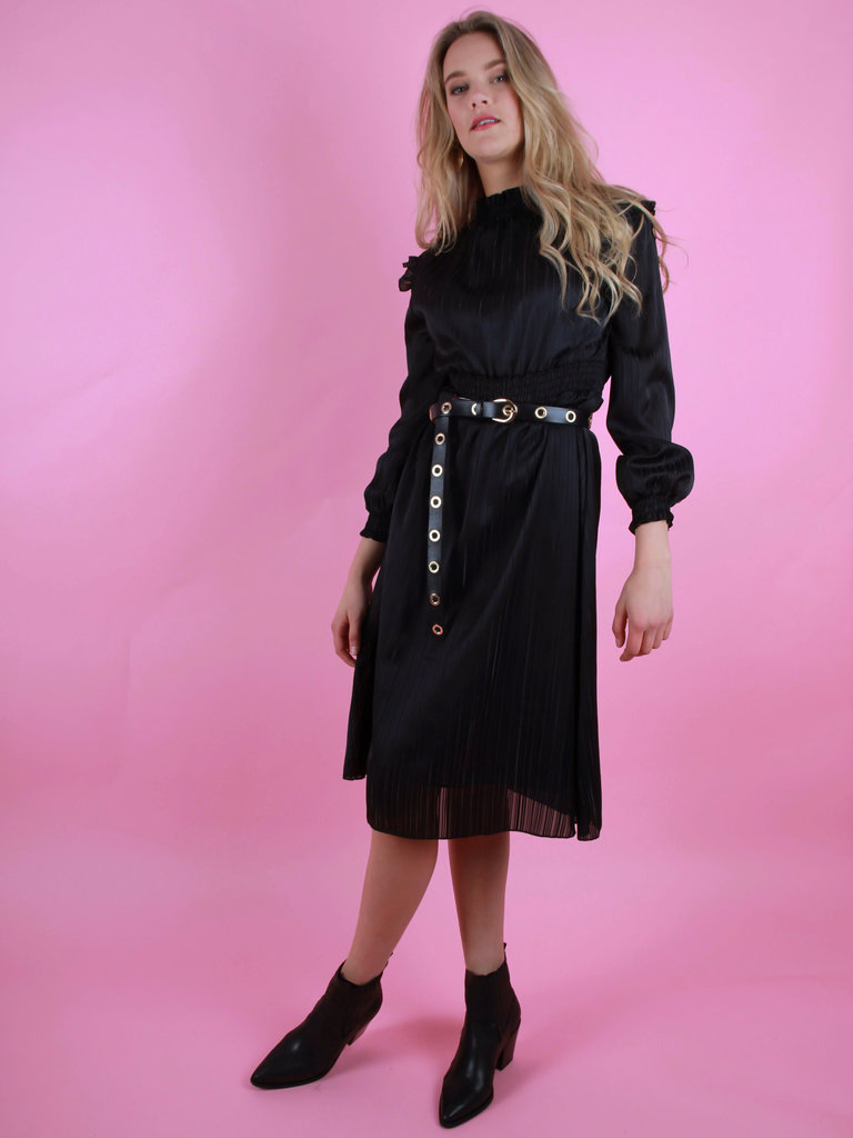 EIGHT PARIS Maxi Dress Black