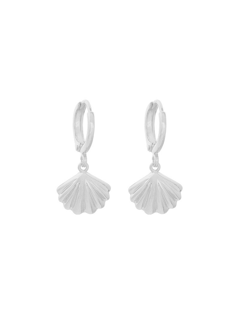 YEHWANG Earrings Shell Crush Silver