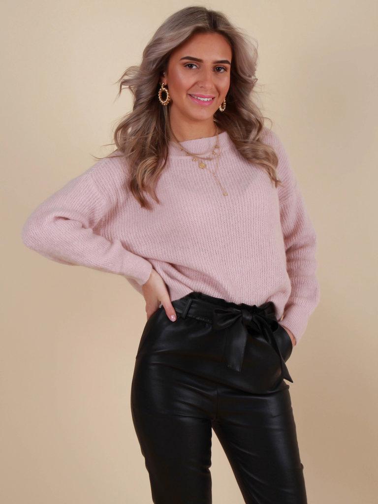 ALEXANDRE LAURENT Soft Mohair Jumper Baby Pink