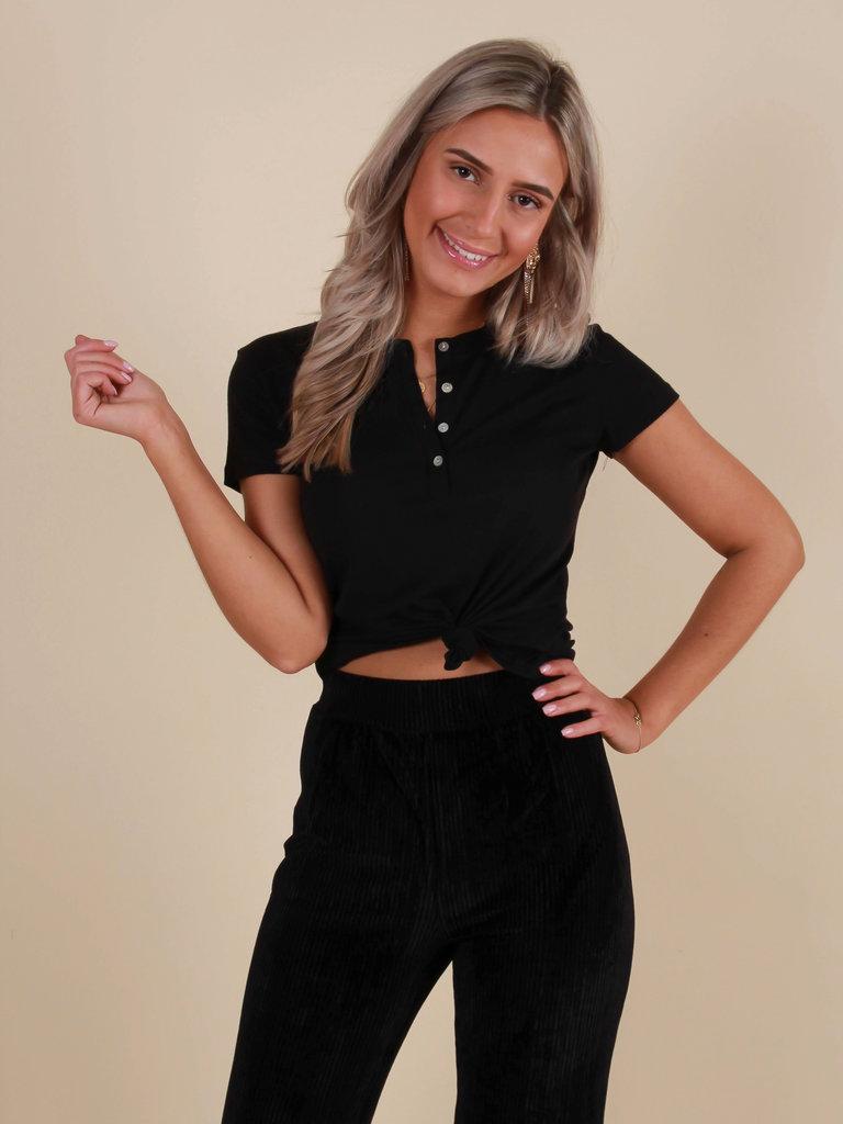 IVIVI Basic Shirt Black