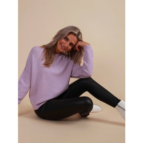 ALEXANDRE LAURENT Boxy Jumper Lilac