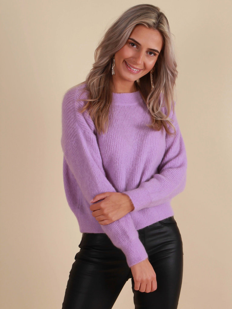 ALEXANDRE LAURENT Soft Mohair Jumper Lilac