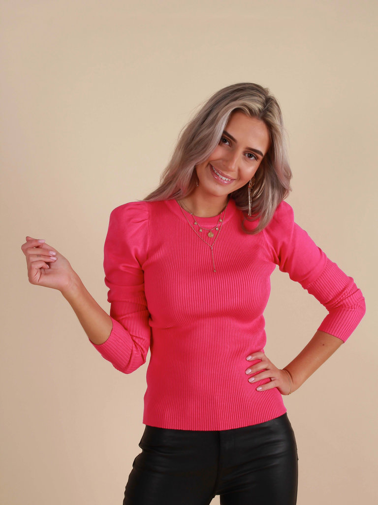 MAY Trui Roze ONE SIZE