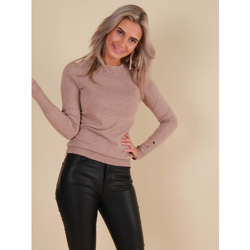 CHERRY KOKO Soft Jumper Beige