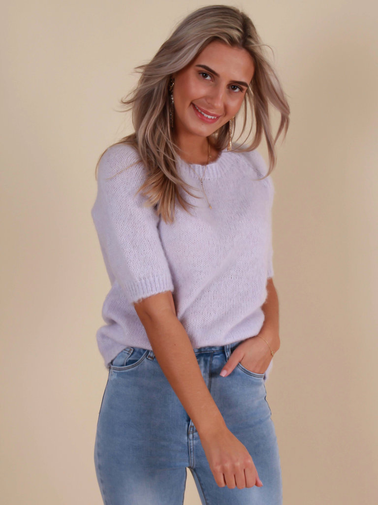 ADILYNN Jumper Short Sleeve Lilac