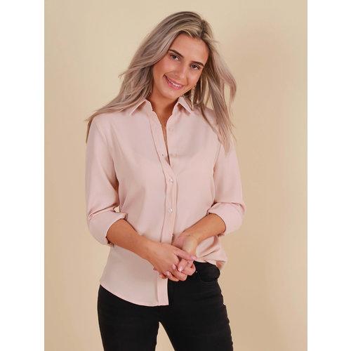 CAPSULE Basic Blouse Pink