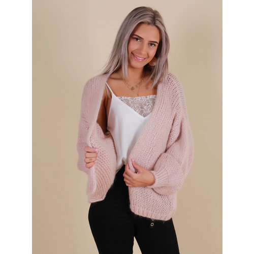 ALEXANDRE LAURENT Knitted Cardigan Rose