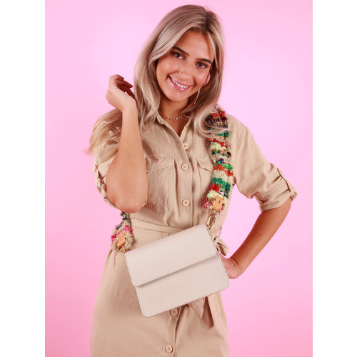 TEATRO Ibiza Shoulder Bag Strap Green