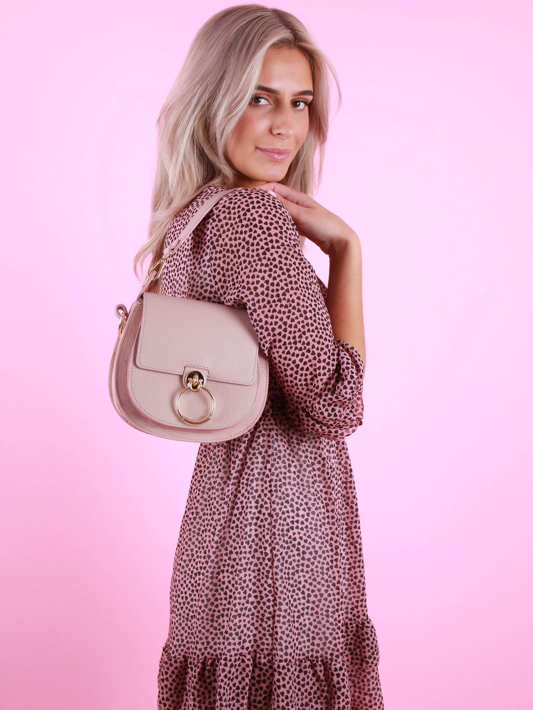 TEATRO Pink - Classic Grain - Cross Body Bag