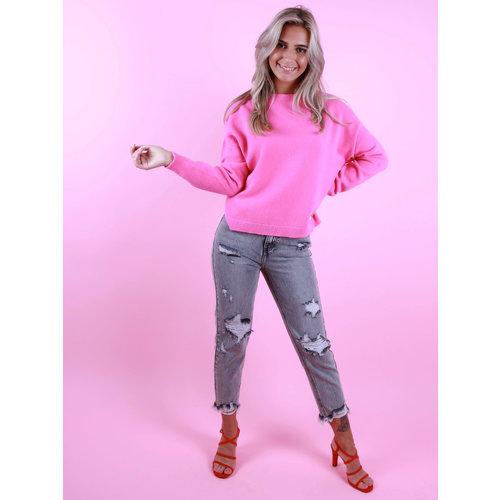 ALEXANDRE LAURENT Boxy Jumper Pink